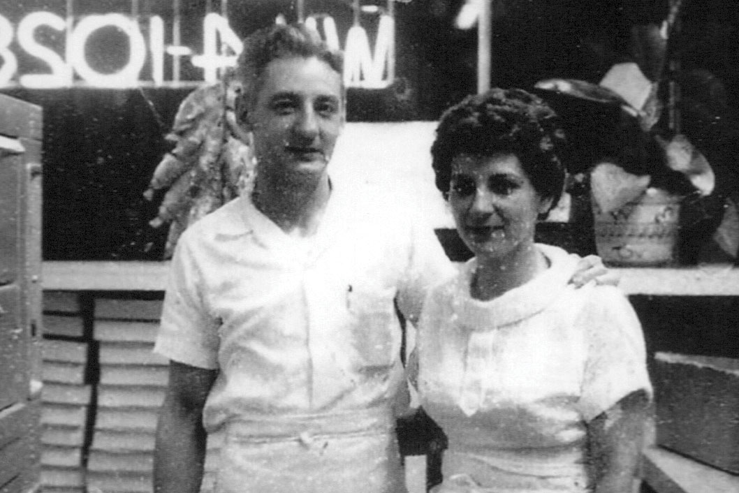 Ken Petti, with his wife, Almeda, introduced Master Pizza in 1955