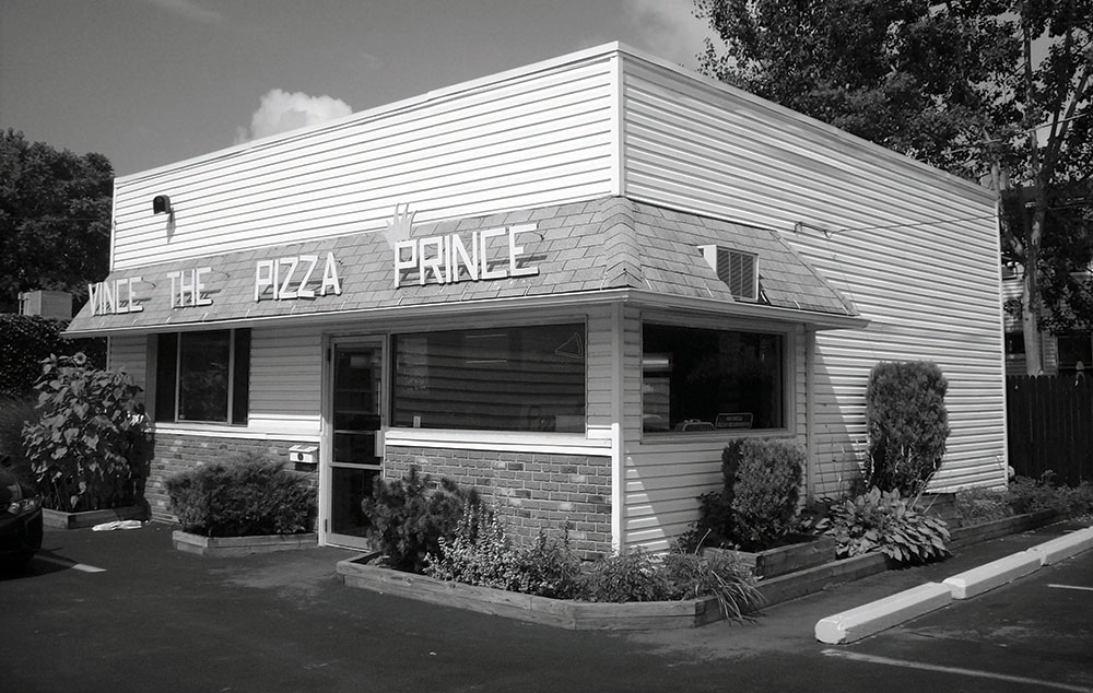 vince the pizza prince exterior