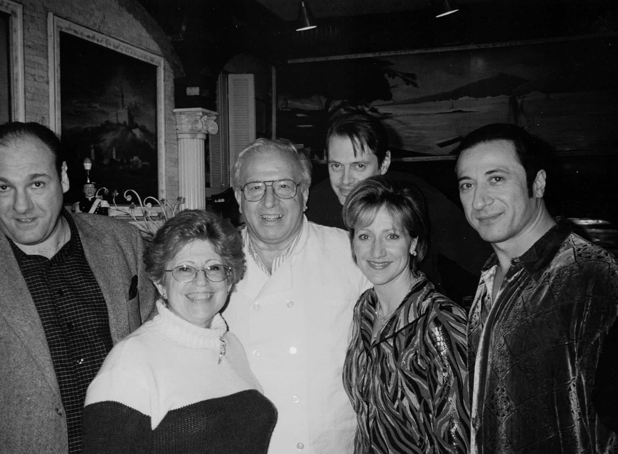 Mario's-Restaurant-with-some-of-The-Sopranos-Cast